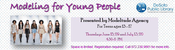 Modeling for Young People Banner