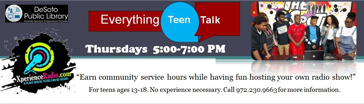 Everything Teen Talk Banner