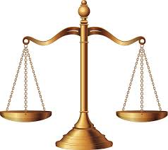 Scales of Justice Gold