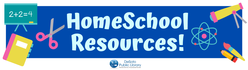 HomeSchool Resources--click for more information