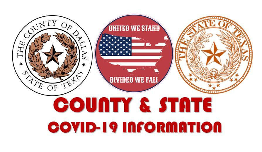 County State United Seal Red