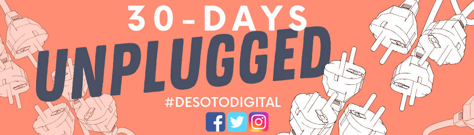 30 Days Unplugged Challenge - Click for the list of challenge topics!