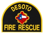DeSoto Fire Rescue Patch 